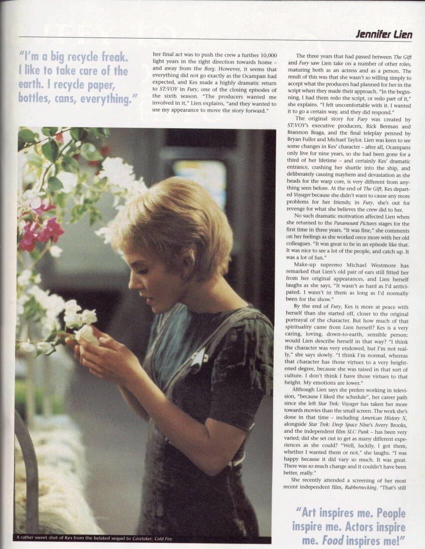 Jennifer Lien : Magazine